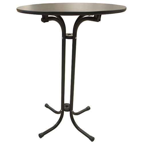Flip Top Pedestal Table - High top pedestal table