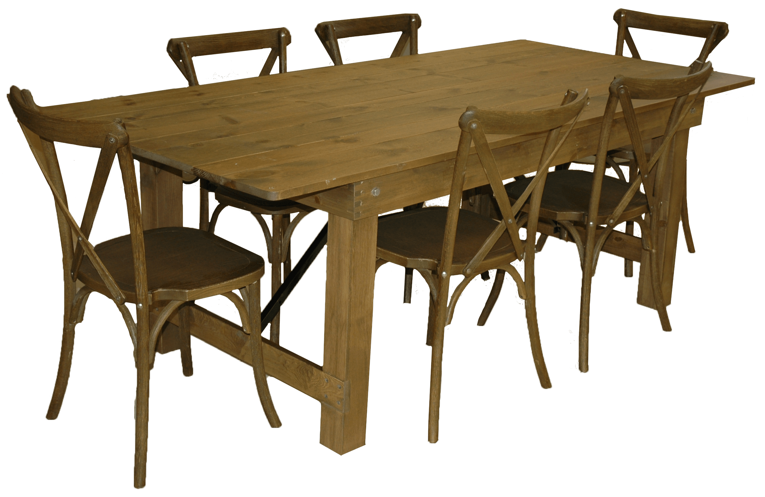 Tables Rustic Farmhouse Folding Table Chairs